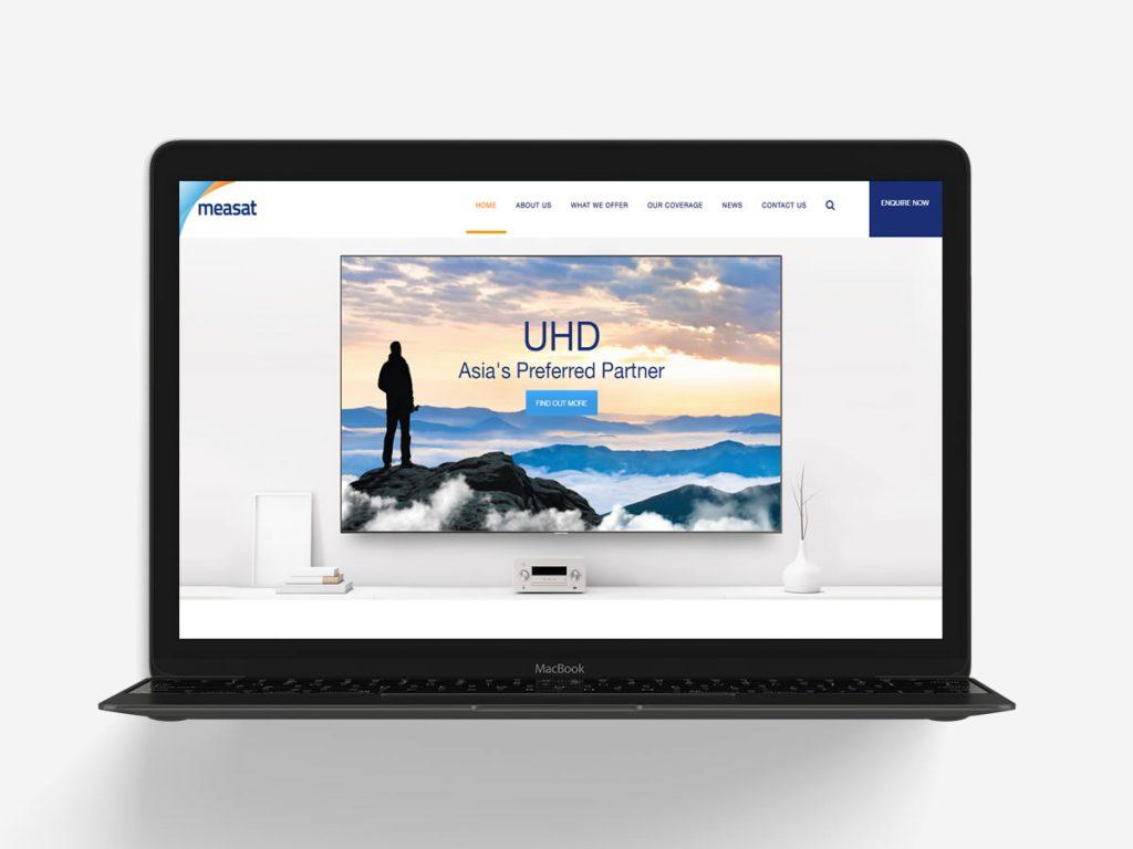Measat Corporate Website