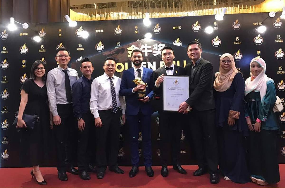 Getright Announced The Winner of Golden Bull Award