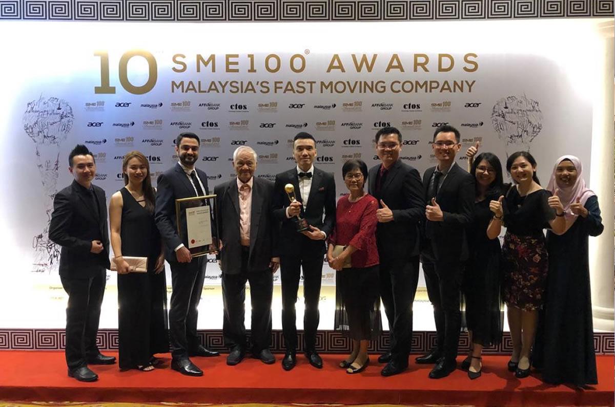 Malaysia SME100 Awards - Fast Moving Company