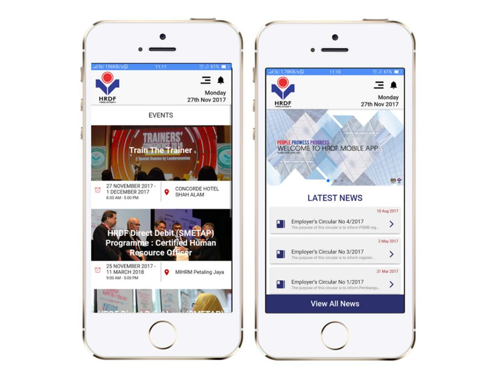 HRDF Official Mobile Application