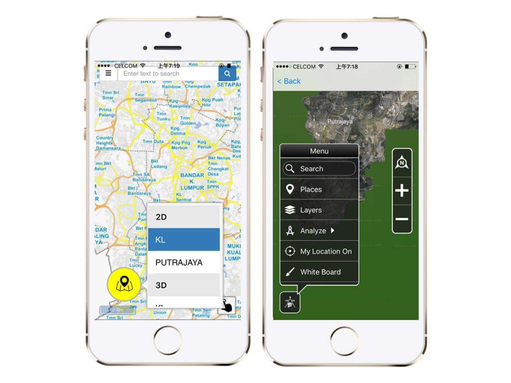 JUPEM Kadaster Mobile App