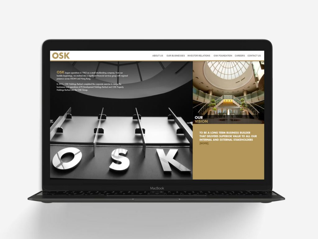 OSK Group Corporate Website
