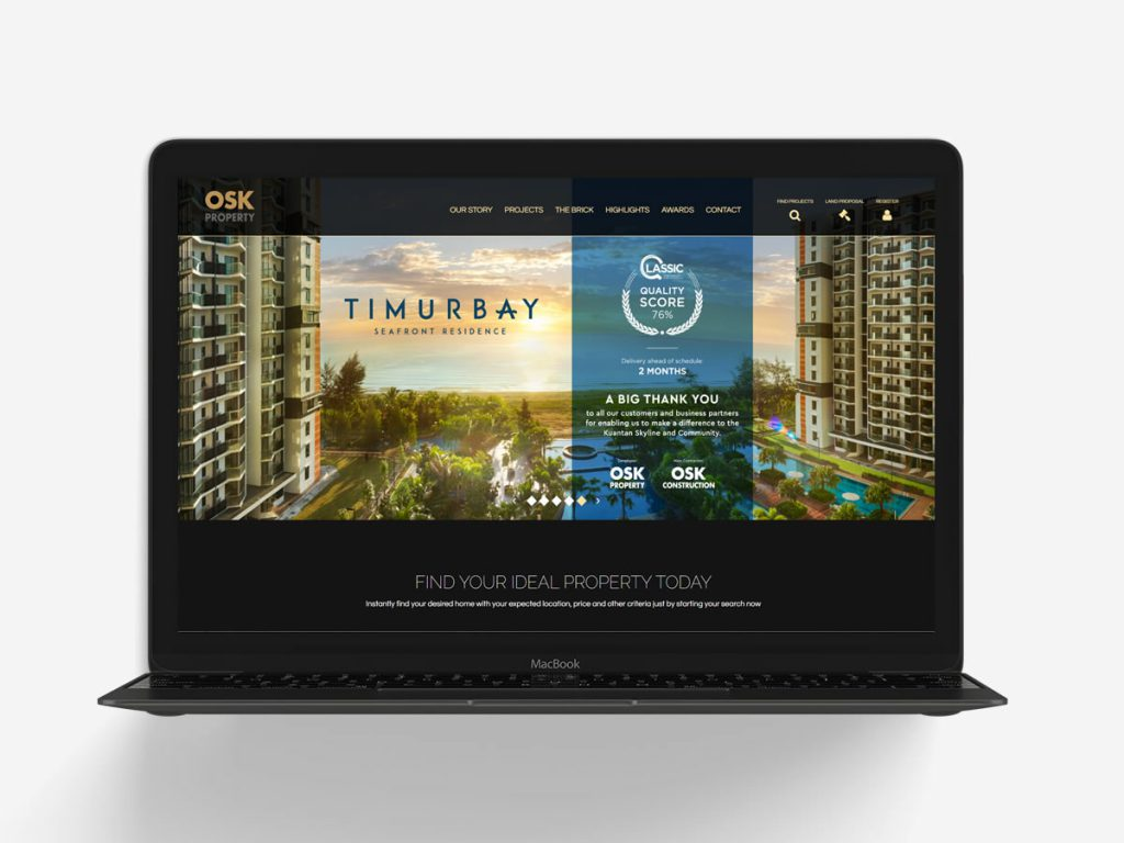 OSK Property Website