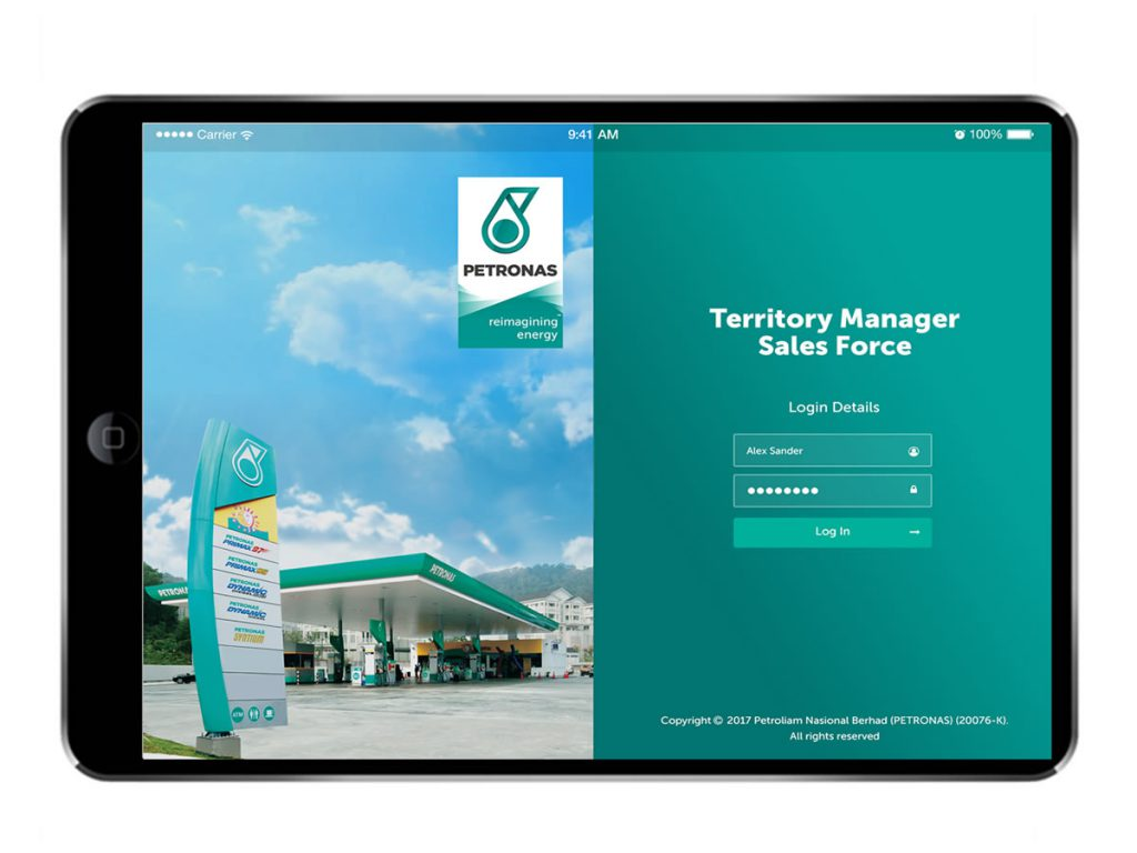 Petronas Retail Sales Mobile App