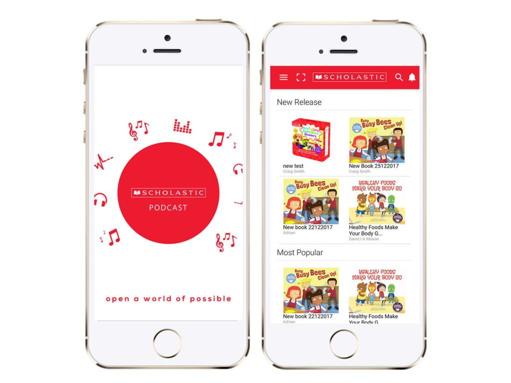 Scholastic Podcast Mobile Application